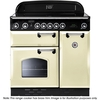 Rangemaster CLAS90EICR/B Classic 90 Induction Range Cooker 87710 CRM
