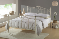 Beds  - Joseph Beds Betal 4ft 6 Double Metal Bed