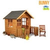 Toys & Equipment for Playing Outdoors Mad Dash Bunny Wooden Children's Playhouse 4'x4'
