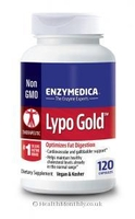 Treatment & Prevention|Digestive Tract|Multivitamins & Minerals|Deodorants|Shampoos  - Enzymedica Lypo Gold (Non-GMO, Kosher, 120 Vegan Capsules)