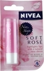 Nivea Lip Care New Shape Soft Rose (4.8g Locks in Moisture (SPF10))