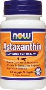 Health & Wellbeing|Herbal Remedies & Natural Medicines|Multivitamins & Minerals  - Now Foods Astaxanthin (4mg, 60 Vegetarian Softgels)