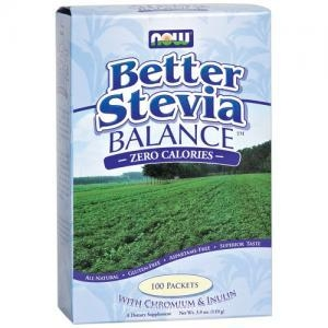Diet & Diabetic Products|Dietary Reducing Products  - Now Foods Better Stevia Balance Zero Calories (100 Packets with Chromium and Inulin)
