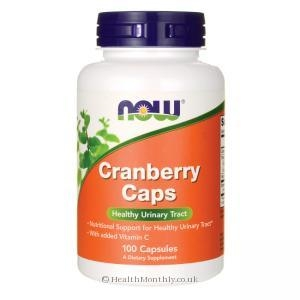 Treatment & Prevention|Herbal Remedies & Natural Medicines|Diet & Diabetic Products|Multivitamins & Minerals  - Now Foods Cranberry Caps (100 Capsules)