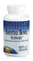 Digestive Tract|Multivitamins & Minerals  - Planetary Herbals Essential Bowel Support (1,095mg, 60 Tablets)