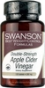 Swanson Diet Double Strength Apple Cider Vinegar (200mg,  120 Tablets)