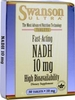 Swanson Ultra Fast Acting NADH (10mg,  30 Tablets)