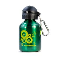 Tablet PC Accessories  - Green Bottle BPA Free / Non Toxic Water Bottle 350ml for Kids - Green