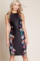 Skirts  - Jungle Floral Bodycon Dress