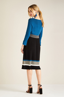 Clothing & Accessories  - Knitted Pleat Skirt