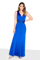 Clothing & Accessories  - Little Mistress Bridget Maxi With Lace Back