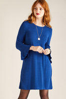 Skirts  - Wool Touch Flute Sleeve Dress
