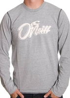 - ONEILL HYBRID L/S TEE Silver Melee