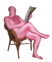 Costumes  - Pink XL Morphsuit