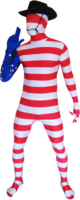 Costumes  - USA XXL Morpshuit