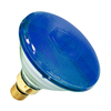 80W PAR 38 Halogen Spotlight - Blue - Screw