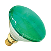 80W PAR 38 Halogen Spotlight - Green - Screw