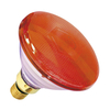 80W PAR 38 Halogen Spotlight - Red - Screw