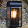 Astro Newbury Half Lantern Outdoor Wall Light