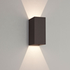 Astro Oslo 160 LED Outdoor Up & Down Wall Light - Black