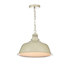 Dar Nantucket Ceiling Pendant Light - Putty