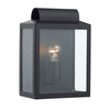 Dar Notary Outdoor Wall Light - Black