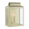 Dar Notary Outdoor Wall Light - Cream