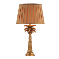 Lighting  - Dar Palm Table Lamp with Shade