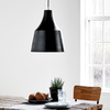 DFTP Grace 32 Ceiling Pendant Light - Black