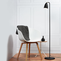 Lighting  - DFTP Nexus 10 Floor Lamp - Black