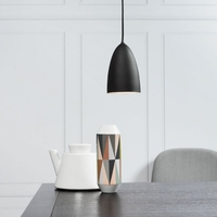 Light Bulbs  - DFTP Nexus 10 LED Ceiling Pendant Light - Black