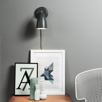 Light Bulbs  - DFTP Nexus 10 Wall Light with Plug - Grey