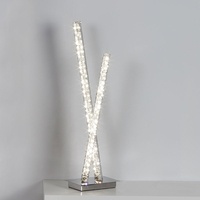 Table Lamps  - Jewel Crystal LED Table Lamp - Polished Chrome