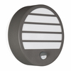 Linz low energy PIR wall light - Anthracite