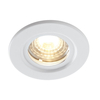 Luceco Atom 5W Dimmable Cool White LED Fire Rated Downlight - White