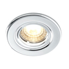Luceco Atom 5W Dimmable Warm White LED Fire Rated Downlight - Polished Chrome