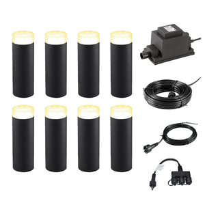 Transformers  - Techmar Plug and Play -  Linum LED Garden Light Kit - 8 Lights