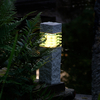Techmar Plug and Play - Nepos Stone Effect Garden Post Light