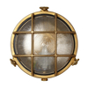 Outdoor Lighting Uber Lamp Rock Round Outdoor Wall Light - Brass