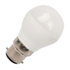 GE 4.5W Dimmable Warm White LED Opal Golf Ball Bulb - Bayonet Cap