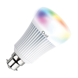 LED lamps  - iDual 11W Colour Changing Dimmable LED Remote Controlled GLS Bulb - Bayonet Cap