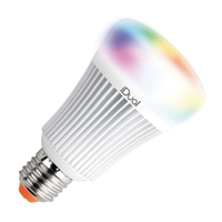 LED lamps  - iDual 11W Colour Changing Dimmable LED Remote Controlled GLS Bulb - Screw Cap