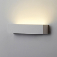 Wall lamps  - Jazz 370 Low Energy Plaster Wall Light - Satin White