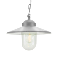 Lighting  - Karlstad Pendant – Galvanised Steel