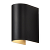 Luster Round Wall Light - Black