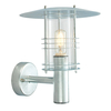 Norlys Stockholm Outdoor Wall Light - Galvanised Steel