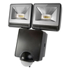 Lamps & Lights Timeguard LED Twin Floodlight with PIR Sensor - Black