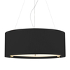 Zaragoza 6 Light Pendant - Black - 900mm
