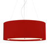 Zaragoza 6 Light Pendant - Red - 900mm
