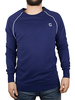 G-Star Ballpen Blue Midder Longsleeved Sweatshirt